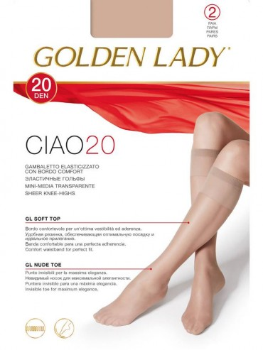 Гольфы Golden Lady CIAO 20 (2 п.)