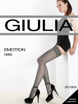 Чулки Giulia EMOTION RETE