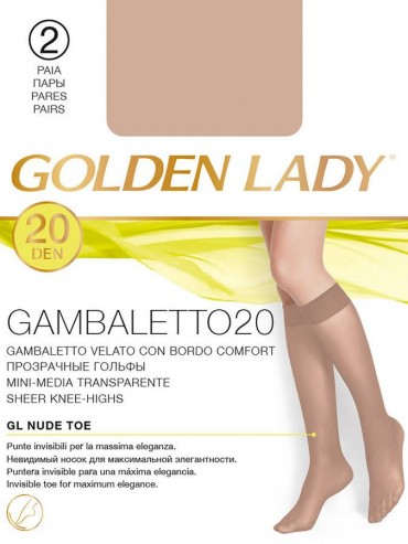 Гольфы Golden Lady GAMBALETTO 20 (гольфы 2 п.)