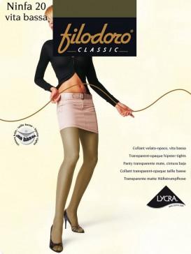 Колготки Filodoro Classic NINFA 20 VITA BASSA