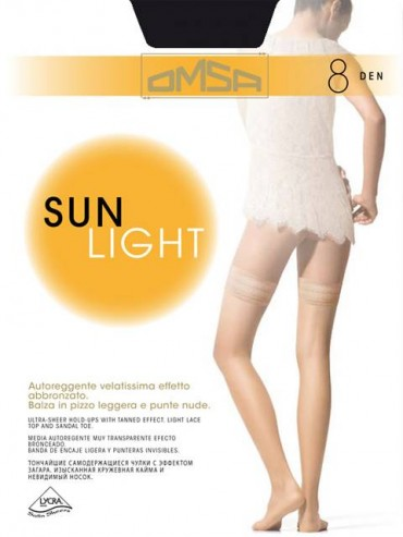 Чулки Omsa SUN LIGHT 8 чулки