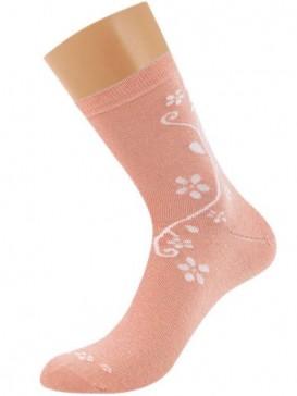 Носки Griff D263 цветок по боку