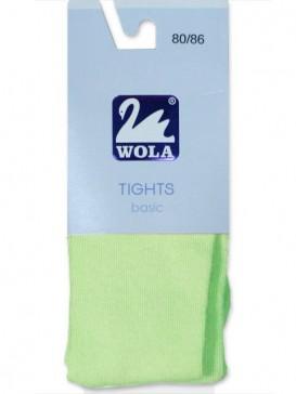 Колготки для малышей Wola W18000 0-2 года WOLA однотонные