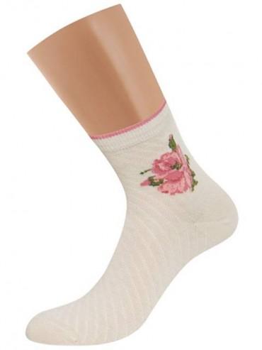 Носки Griff D252 цветы винтажные