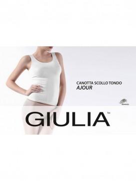 Майка Giulia CANOTTA SCOLLO TONDO AJOUR
