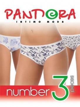 Трусы женские Pandora PD 1049 (3 шт.) slip