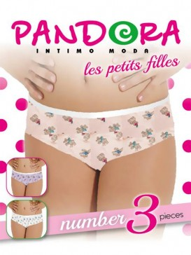Трусы женские Pandora PD 61487 (3 шт.) slip