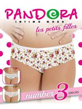 Трусы женские Pandora PD 61517 (3 шт.) slip