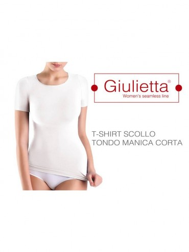 Футболка Giulietta T-SHIRT SCOLLO TONDO M.CORTA