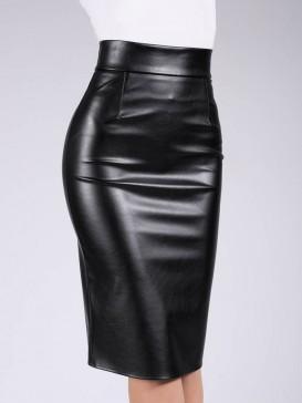 Юбка Giulia PENCIL SKIRT leather 01