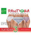 Трусы женские Pandora PD 1176 (3 шт.) slip