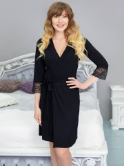 Халат Leinle LADY BLACK 274 халат