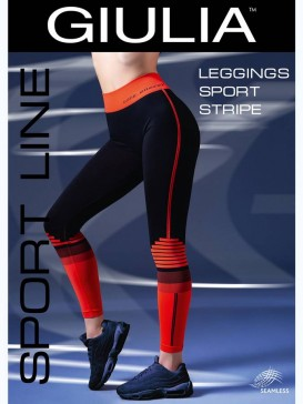 Леггинсы Giulia LEGGINGS SPORT STRIPE 01