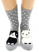 Носки Hobby Line HOBBY 8845-4 носки махровые Котики