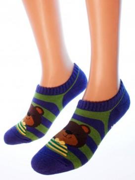Носки Hobby Line HOBBY 8715 махровые ABC укороченные Мишки