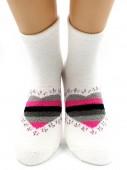 Носки Hobby Line HOBBY 2209 носки махровые-пенка Сердечко LOVE