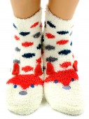 Носки Hobby Line HOBBY 2360 носки махровые-травка Лисичка 3Д