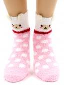 Носки Hobby Line HOBBY 2361-1 носки махровые-травка Овечка 3Д