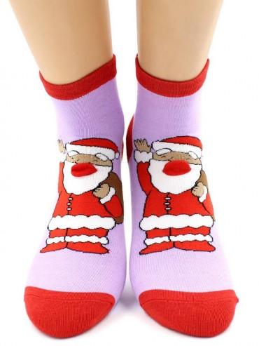 Носки Hobby Line HOBBY 3Д93 носки женские Новогоднее ассорти