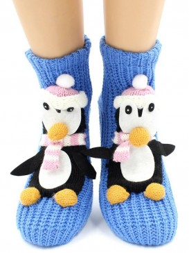 Носки Hobby Line HOBBY 073 носки вязаные АВС Пингвин