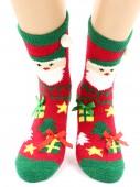 Носки Hobby Line HOBBY 2221-3 носки махровые-пенка Эльф 3Д