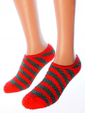 Носки Hobby Line HOBBY 2016-3 носки махровые-пенка укороченные полоска