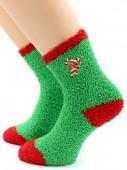 Носки Hobby Line HOBBY 046-2 носки махровые-травка  Сладкий леденец