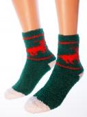 Носки Hobby Line HOBBY 054-5 носки махровые-травка Полярный олень