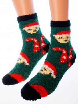 Носки Hobby Line HOBBY 058-2 носки махровые-травка Леденцы и смайлики