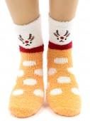 Носки Hobby Line HOBBY 2223-7 носки махровые-травка Олень