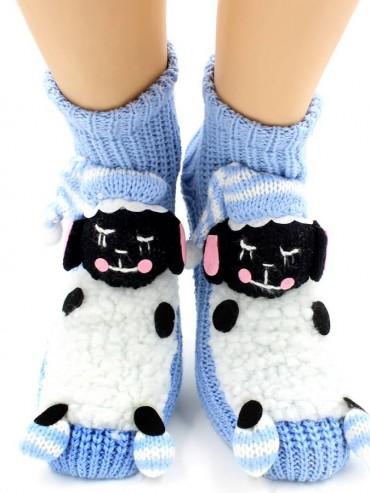 Носки Hobby Line HOBBY 084 носки вязаные АВС Овечка на небесном