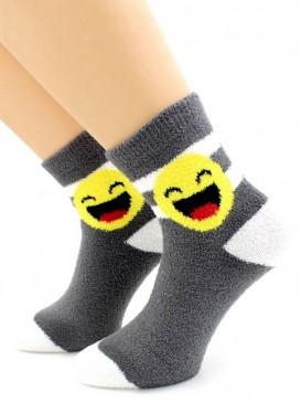 Носки Hobby Line HOBBY 2270-3 носки махровые-пенка смайлик Улыбающийся