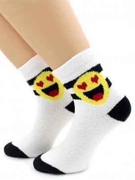 Носки Hobby Line HOBBY 2270-5 носки махровые-пенка смайлик Влюбленный