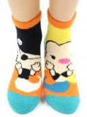 Носки Hobby Line HOBBY 2302-66 носки махровые-пенка половинки Пират и Русалка