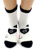 Носки Hobby Line HOBBY 2302-75 носки махровые-пенка половинки Пандочка