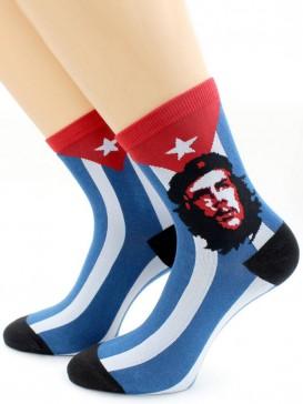 Носки Hobby Line HOBBY 10552 носки ART дизайн Че Гевара Джим Фитцпатрик