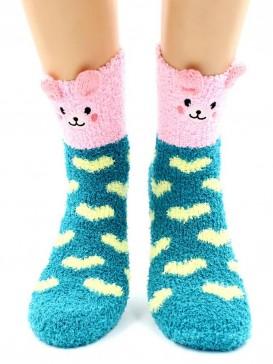 Носки Hobby Line HOBBY 2362-5 носки махровые-травка Зайка
