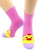 Носки Hobby Line HOBBY 2369 носки махровые-травка Цыпленок 3Д