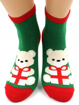 Носки Hobby Line HOBBY 467-2 носки экслюзив новогодние мишка