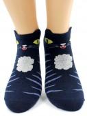 Носки Hobby Line HOBBY 423 носки экслюзив, укороченные, кошечки