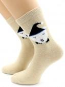 Носки Hobby Line HOBBY 6198-1 носки ангора, мишка гномик 3Д