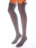 Ботфорты Hobby Line HOBBY 1005-3 ботфорты женские с мини рюшей и бантиком