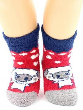 Носки Hobby Line HOBBY 3329 носки детские махровые пенка Влюбленные поросята