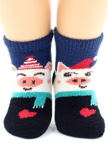 Носки Hobby Line HOBBY 3330-1 носки детские махровые пенка Поросята в колпаках