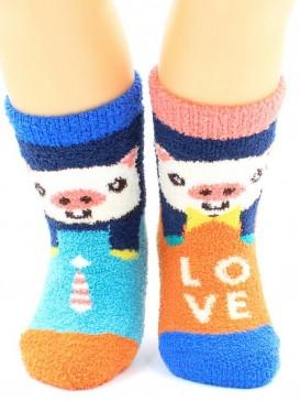 Носки Hobby Line HOBBY 3332-1 носки детские махровые пенка Поросята