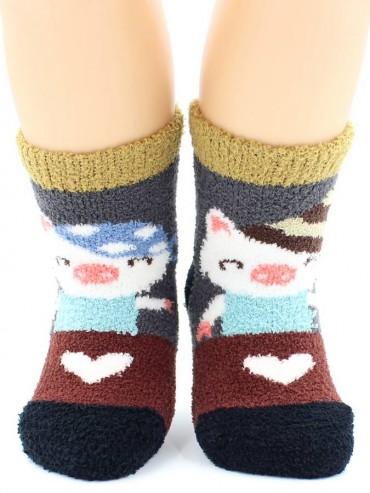 Носки Hobby Line HOBBY 3332-2 носки детские махровые пенка Поросята