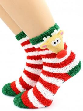 Носки Hobby Line HOBBY 3307 носки детские ABC махровые травка Олень