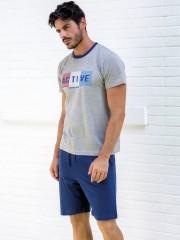 Комплект Enrico Coveri EA 2022 pigiama corto