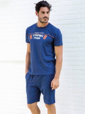 Комплект Enrico Coveri EA 2023 pigiama corto