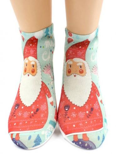 Носки Hobby Line HOBBY 3Д104-01 носки детские Санта-Клаус